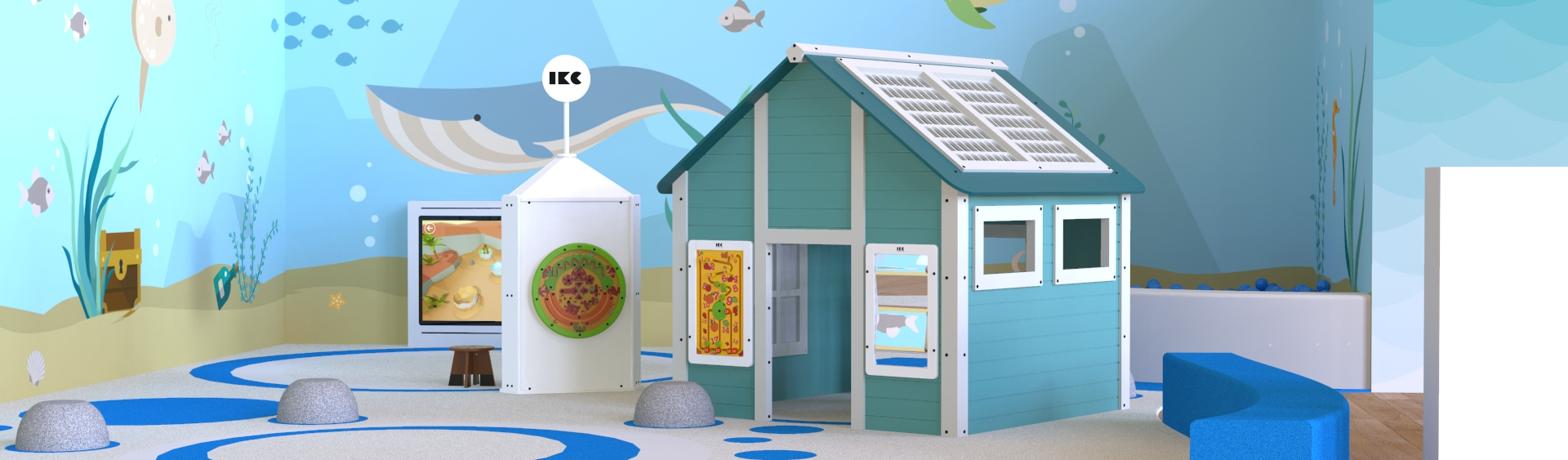 Playhouses from IKC - a play house for your play corner