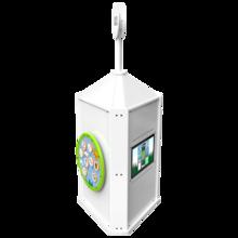 Speeltoren voor een kinderhoek met meerdere spellen interactief    IKC speelsystemen