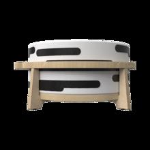 Houten krukje voor kinderen speciaal ontworpen voor de softplay zitkussens | IKC Kindermeubels