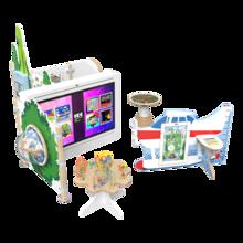 interactieve kinderhoek inrichting met vrijstaande speelsystemen en kralentafel